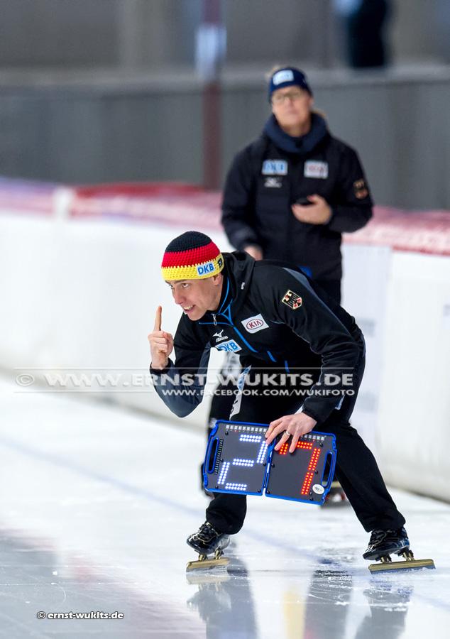 DM Eisschnelllauf - Mehrkampf