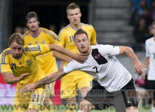 FUSSBALL - Länderspiel  OESTERREICH : UKRAINE