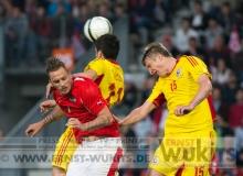 FUSSBALL - Länderspiel  OESTERREICH : RUMAENIEN
