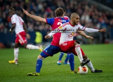 FUSSBALL - Europa League  Red Bull Salzburg : FC Basel