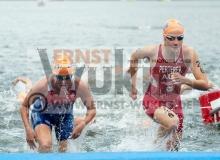 TRIATHLON - ITU World Triathlon Kitzbuehel 2012 - Elite Frauen