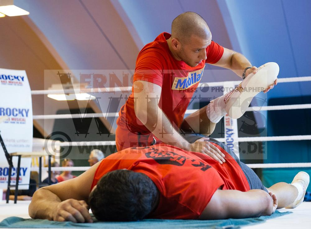 BOXSPORT - Training Wladimir Klitschko