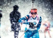 Gabriela SOUKALOVA (CZE)  - IBU BIATHLON WC RUHPOLDING - 4x6 km Staffel Frauen