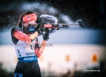 Vanessa HINZ (GER) - IBU BIATHLON WC RUHPOLDING - 4x6 km Staffel Frauen