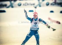 Veronika VITKOVA (CZE) - IBU BIATHLON WC RUHPOLDING - 4x6 km Staffel Frauen