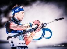Simon SCHEMPP (GER) - IBU BIATHLON WC RUHPOLDING - 4 x 7,5 km Staffel Maenner