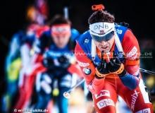 Ole Einar BJOERNDALEN (NOR) - IBU BIATHLON WC Ruhpolding - 4 x 7,5 km Staffel Maenner