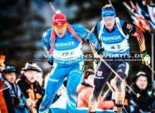 Michal SLESINGR (CZE) - IBU BIATHLON WC Ruhpolding - 4 x 7,5 km Staffel Maenner
