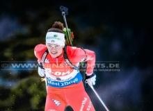 Karin OBERHOFER(ITA) - IBU BIATHLON WC Ruhpolding - 7,5 km Sprint Frauen