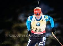 Kaisa MAKARAINEN (FIN) - IBU BIATHLON WC Ruhpolding - 7,5 km Sprint Frauen