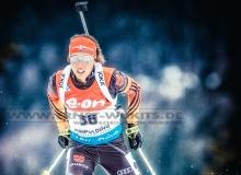 Laura DAHLMEIER (GER)  - IBU BIATHLON WC RUHPOLDING - 7,5 km Sprint Frauen