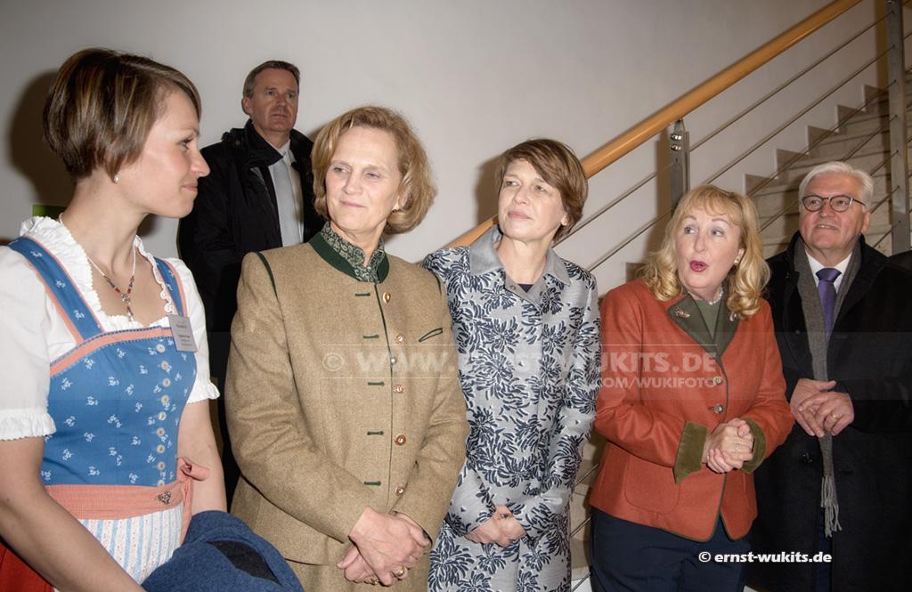 POLITIK - Besuch des Bundespräsidenten und Ministerpräsidenten mit Gattinnen