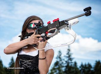25.08.2014: Fotoshooting - Dorothea Wierer
