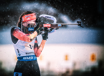 IBU BIATHLON WC RUHPOLDING - 4x6 km Staffel Frauen